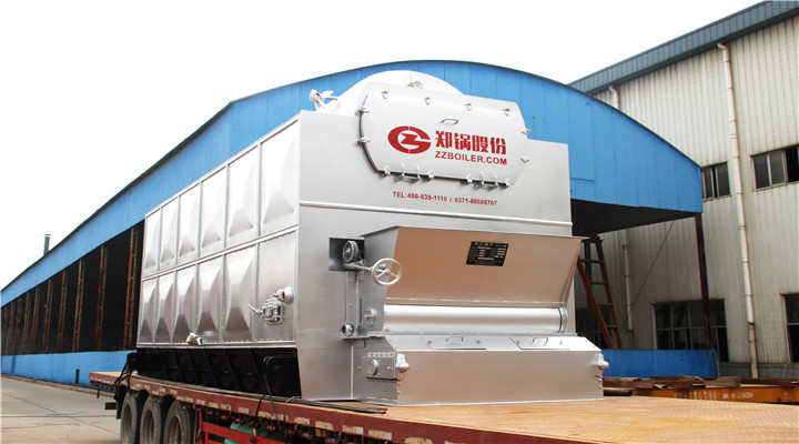 biomass container steam boiler