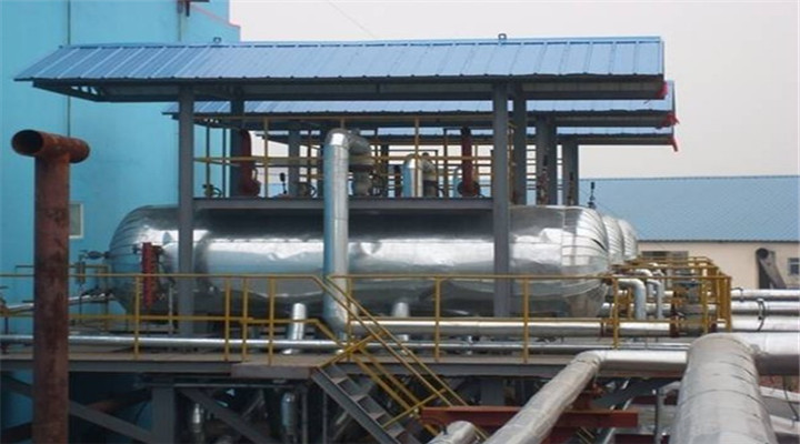 4t/h wood pellet fired steam boiler